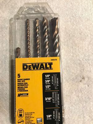 Rotary Hammer Drill Bit Dewalt DW5470 for Sale in Loxahatchee, FL