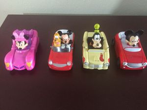 Disney Mickey Mouse Roadster Racers lot of 4 for Sale in Hialeah, FL