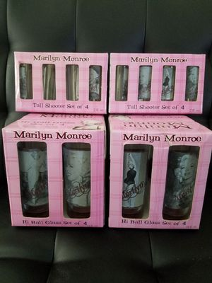 Marilyn Monroe glasses collection for Sale in Tampa, FL