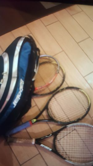 Tennis racket set of 4 for Sale in Las Vegas, NV