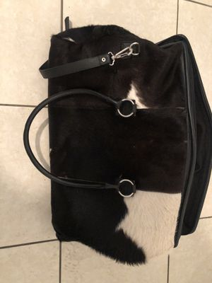 Real leather cow print bag for Sale in Miami, FL