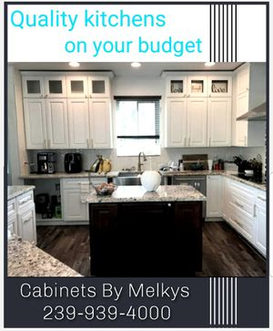 Gorgeous kitchen cabinets for Sale in Naples, FL