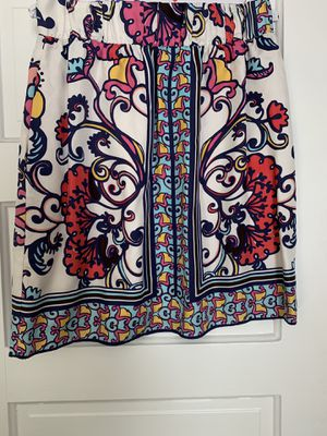 Lily Pulitzer Patterned Skirt with Sash for Sale in Detroit, MI