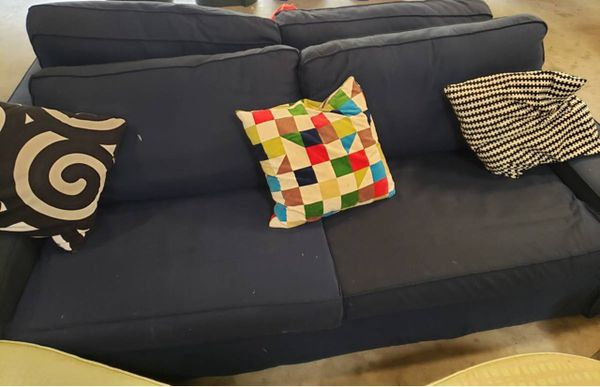 Beautiful Ikea Navy Blue Couch For Sale In Chula Vista Ca