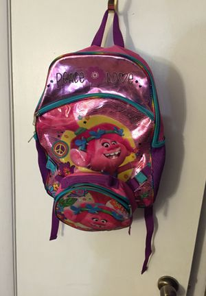 Trolls backpack for Sale in Norfolk, VA