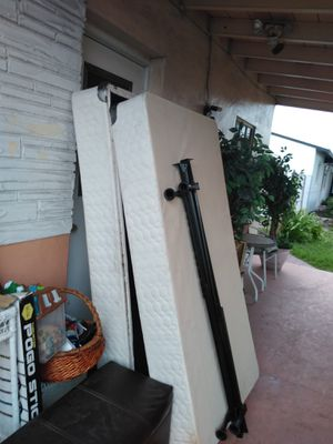 FREE !! TWO TWIN SIZE BOXSPRINGS! WITH RAILS for Sale in Miramar, FL