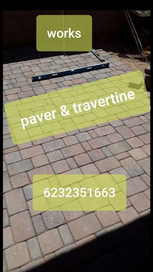 Paver & travertine for Sale in Chandler, AZ