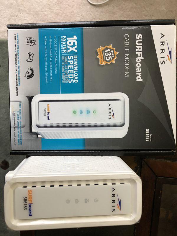 High Speed Netgear WiFi Router & Arris Cable Modem