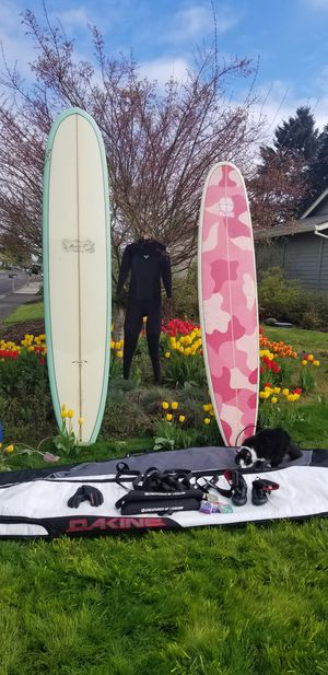 Signed Donald Takayama Retro Model T Surfboard for Sale in Woodburn, OR