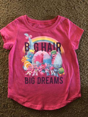Trolls shirt (XS 4-5) for Sale in Huntington Beach, CA