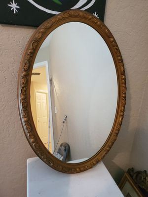 Oval mirror for Sale in Orange City, FL