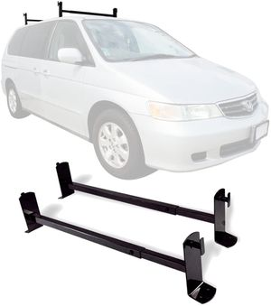 New in box roof mount van ladder cross bar rack adjustable 2 bars with hardwares for Sale in Whittier, CA