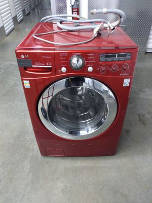 LG steam washer works great delivery for Sale in Capitol Heights, MD