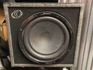 10 inch Subwoofer with amp for Sale in San Diego, CA