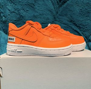 Orange Nike Air Force One Toddler Sz 5 for Sale in Park Ridge, NJ