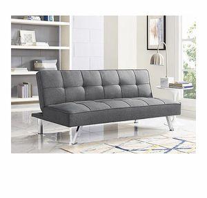 Gray Futon (recliner sofa) for Sale in Orlando, FL