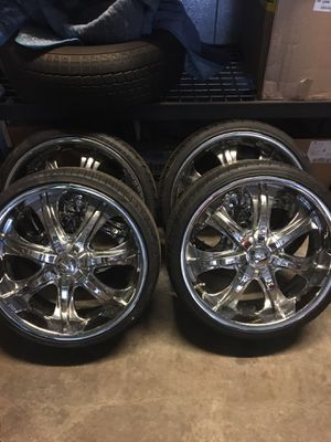 20in rims with new tires for Sale in Lake Stevens, WA
