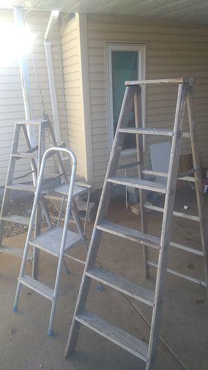 Used ladders 3 for Sale in Wichita, KS