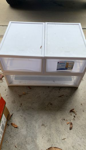 One large storage container and two smaller storage containers for Sale in Riverview, FL