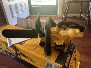 Dewalt 12V XR Chainsaw Tool Only for Sale in Hyattsville, MD