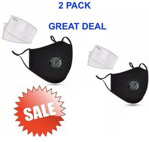 2 Pack-Reusable Face Masks & 4 Filters for Sale in Falls Church, VA