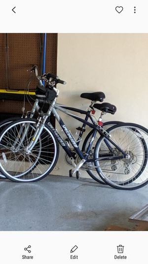 2 specialized crossroads bikes and a Mongoose. For sale or trade for execrise/gym equipment for Sale in Tampa, FL