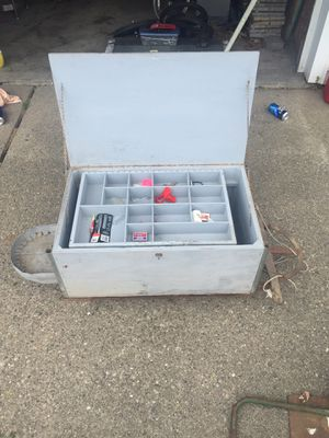 Fishing tackle box for Sale in Eastpointe, MI