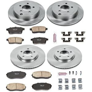 BRAND NEW Power Stop Front & Rear Stock Replacement Brake Pad and Rotor Kit (1999-2002 Ford F-250/ F-350 2000-2002) Ford Excursion KOE1894 for Sale in Miami, FL