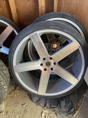 26 inch rims for sale. for Sale in Modesto, CA