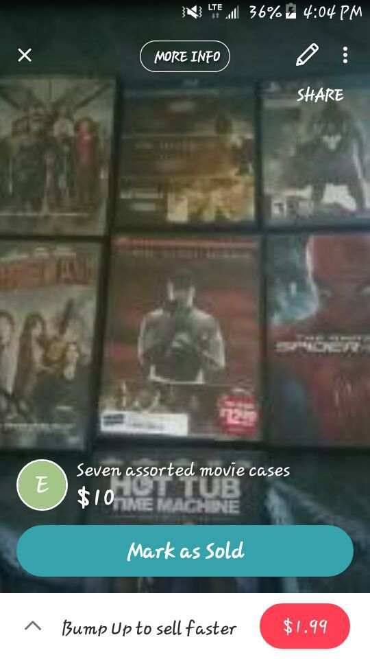 Assorted movies and ps4 game