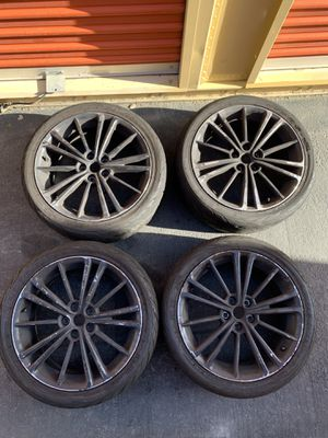 FRS/BRZ 5x100 17x7 wheels with Federal RSR-R tires for Sale in Santa Ana, CA