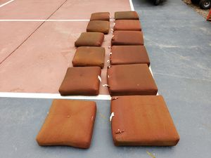 Set of Six Patio Furniture Cushions for Sale in Bonney Lake, WA