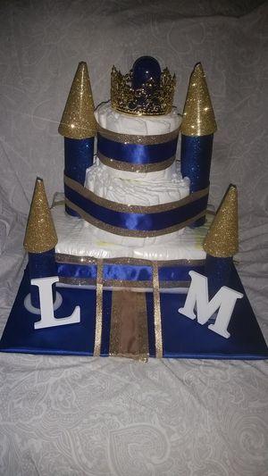 Castle Diaper cake for Sale in Fayetteville, GA