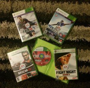 XBOX 360 Games for Sale in Midlothian, VA