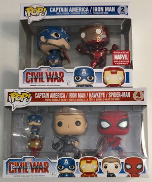 Funko POP Captain America Civil War POP exclusive for Sale in SIENNA PLANT, TX