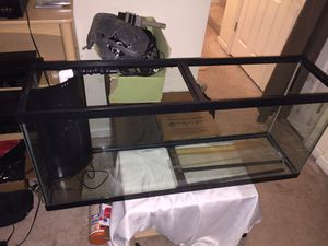 55 Gallon Salt Water Tank for Sale in Manassas, VA