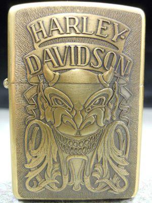 Zippo Harley-Davidson Demon Devil Satan Solid Brass NEW Lighter IX 1993 for Sale in San Fernando, CA