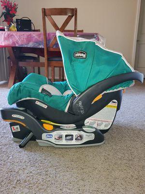 Chico bravo trio system stroller carseat with base for Sale in Pleasanton, CA