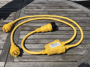 Marinco Shore Power Y Adapter 30 Amp / 50 A !! Like New for Sale in Fort Lauderdale, FL