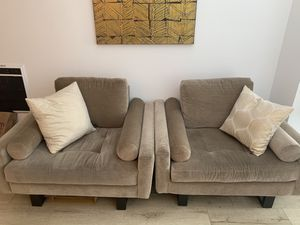 ZGallerie Club Chairs for Sale in Los Angeles, CA