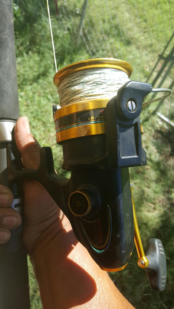 Penn Rod and Reel gold series