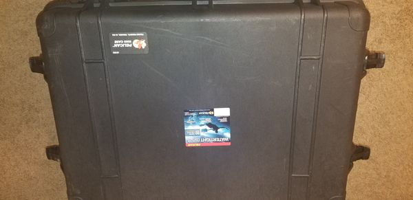 Pelican 1660 case with organizers