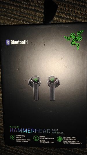 Razer hammerhead true wireless headphones for Sale in Los Angeles, CA