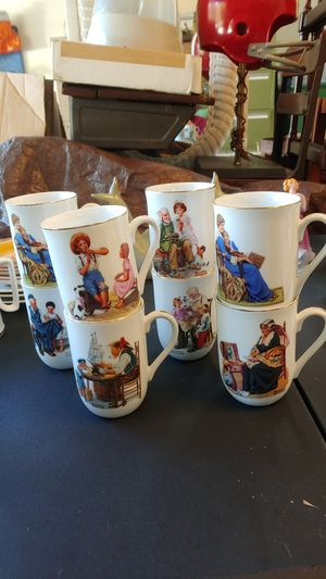 Norman Rockwell Courier and Ives - various mugs and tankards for Sale in Greenville, SC
