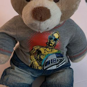 Teddie Bear With Star Wars Outfit for Sale in Hillsboro, OR