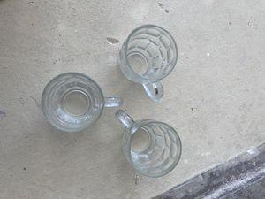 3 glass mugs for Sale in Miami, FL
