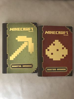 Minecraft Essential and Redstone Handbook for Sale in Sunnyvale, CA