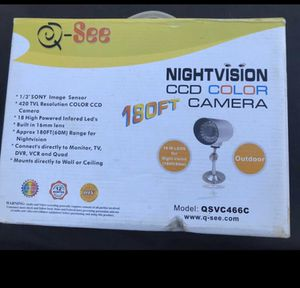 Night Vision CCD Color Outdoor Camara for Sale in San Jose, CA