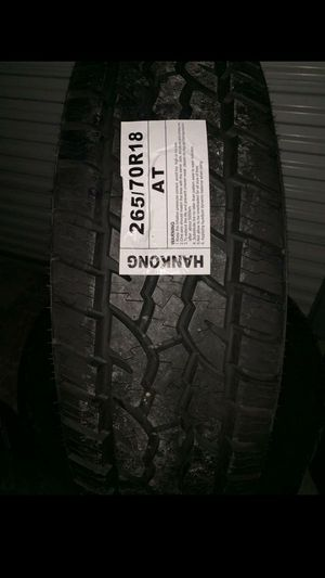 MONKEY wheels and tires 265 70 18 for Sale in Phoenix, AZ