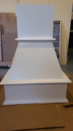 Wood kitchen hood enclosure for Sale in St. Charles, IL